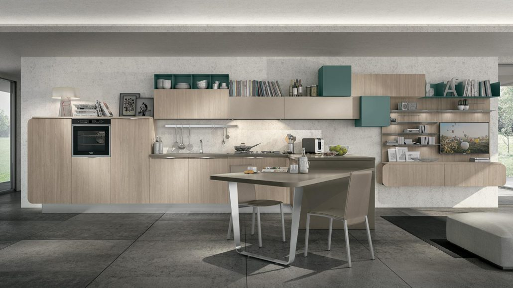 Lube immagina mobilia group divani cucine e - Cucine living moderne ...