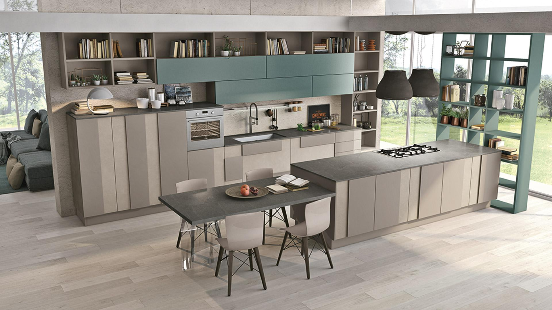 Lube creativa mobilia group divani cucine e for Cucine mobilia