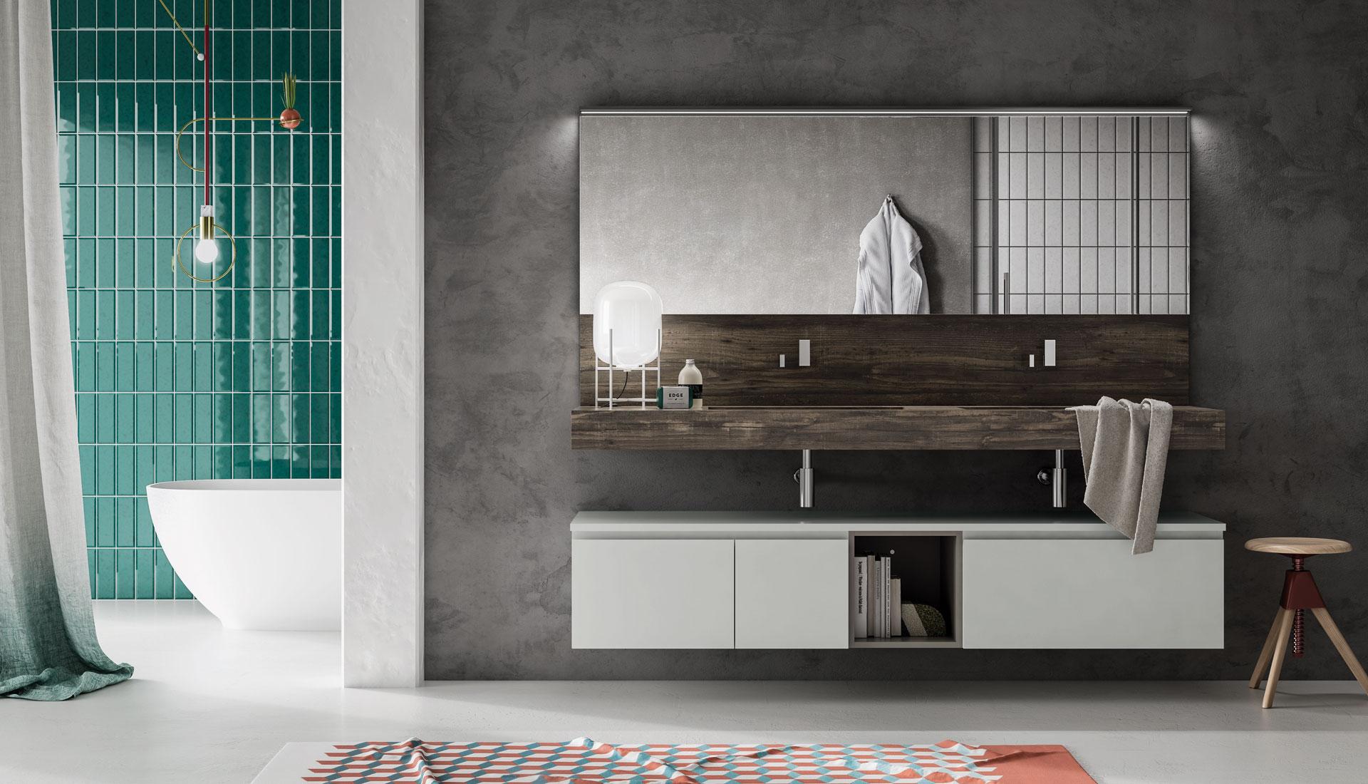 Puntotre composizione nw4 mobilia group divani for Arredo negozi rimini