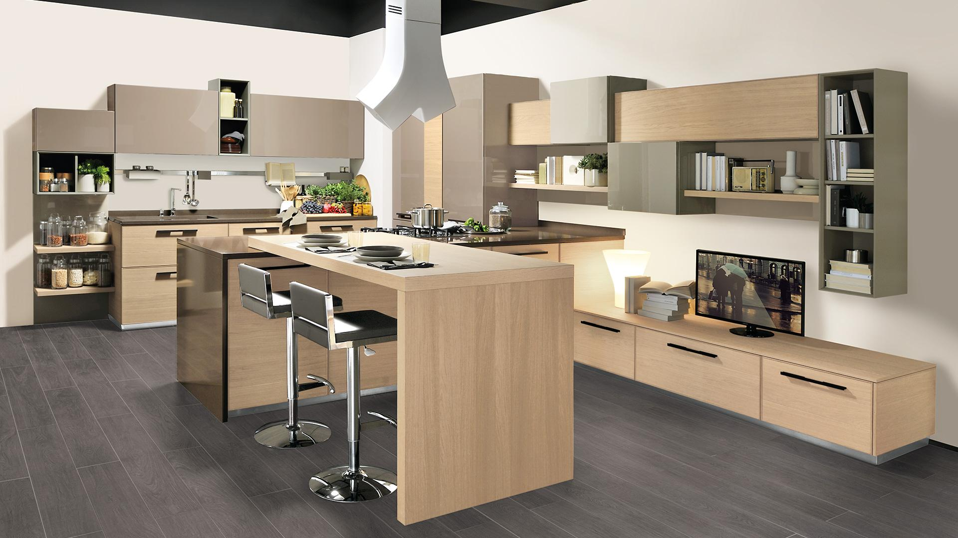 Lube adele project mobilia group divani cucine e for Cucine mobilia