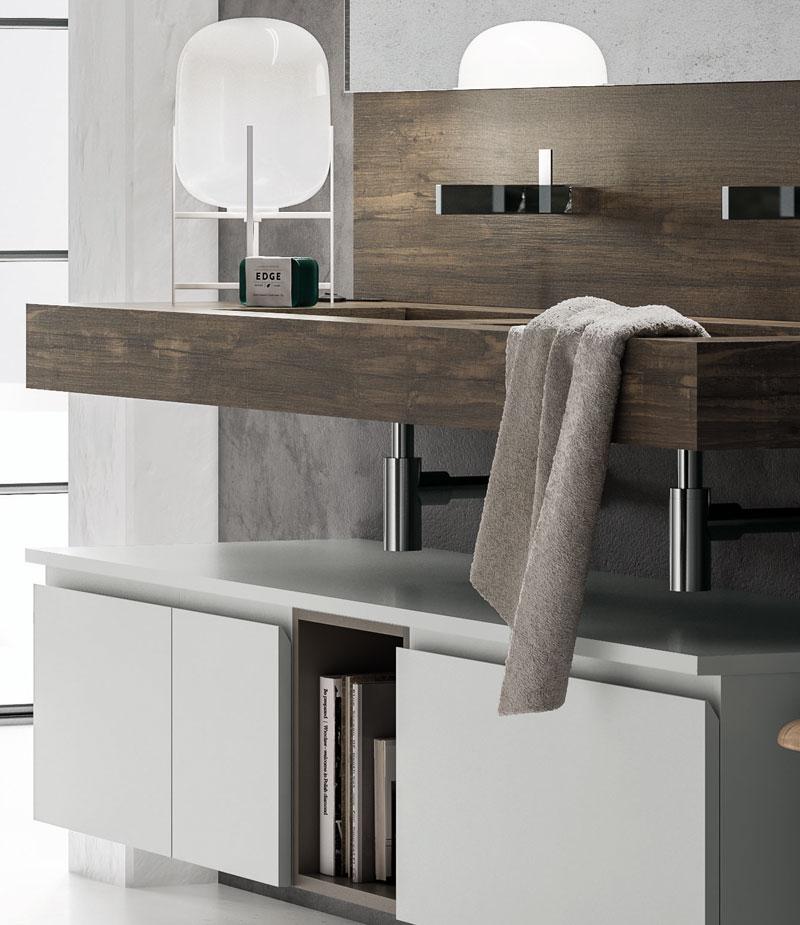 Puntotre composizione nw4 mobilia group divani for Mobilia trieste