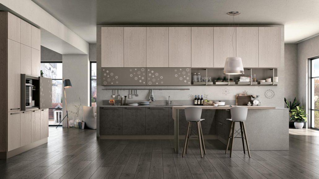Lube clover mobilia group divani cucine e camerette for Mobilia cucine