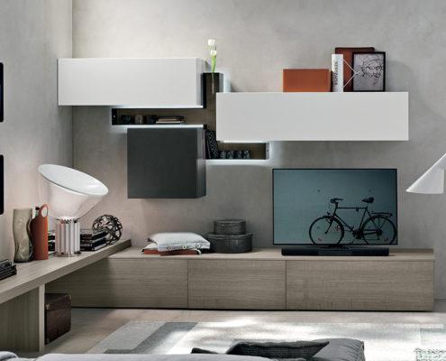 Tomasella composizione a014 mobilia group divani for Mobilia cucine