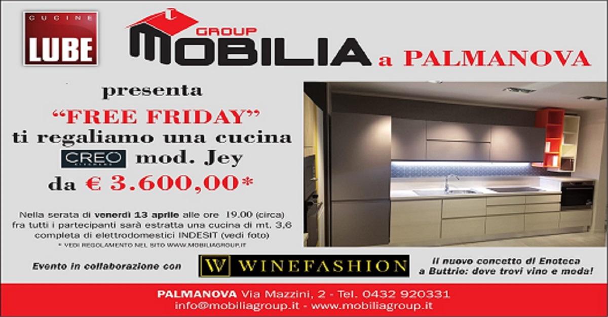 Pubblicit cm mod 1 1 1 mobilia group for Mobilia trieste