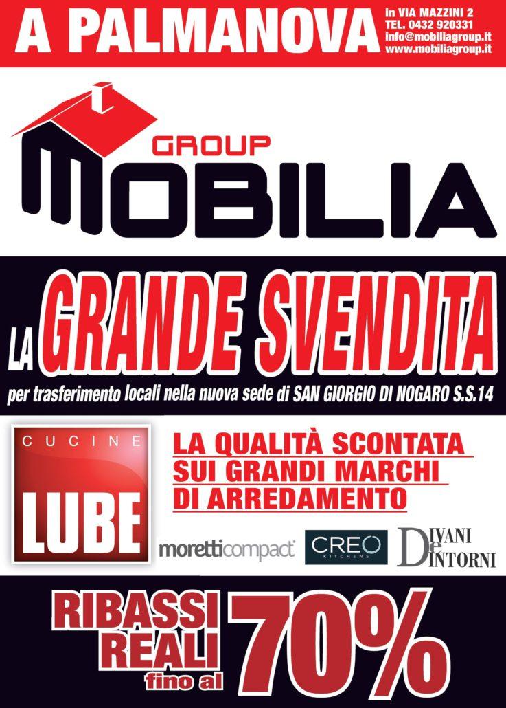 Grande svendita mobilia group divani cucine e for Mobilia trieste