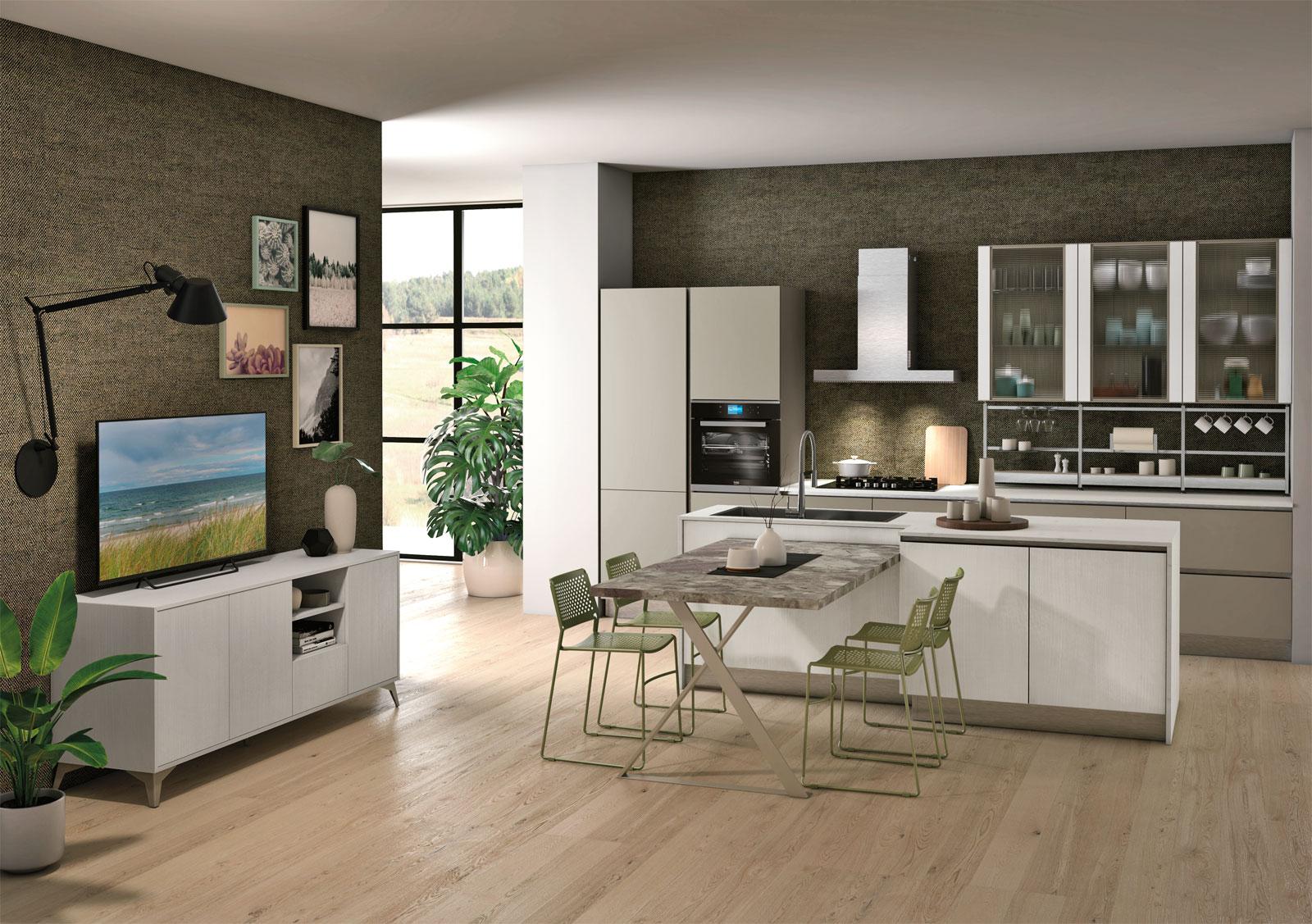 Creo tablet mobilia group divani cucine e camerette for Mobilia cucine